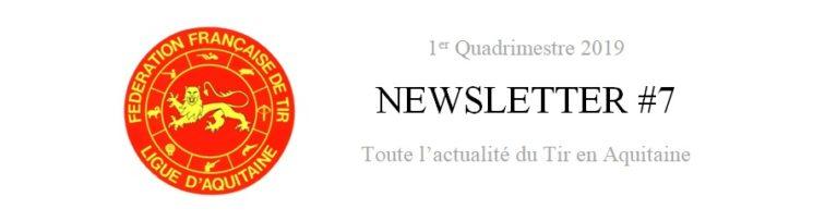[Information] Newsletter 1er Quadrimestre 2019