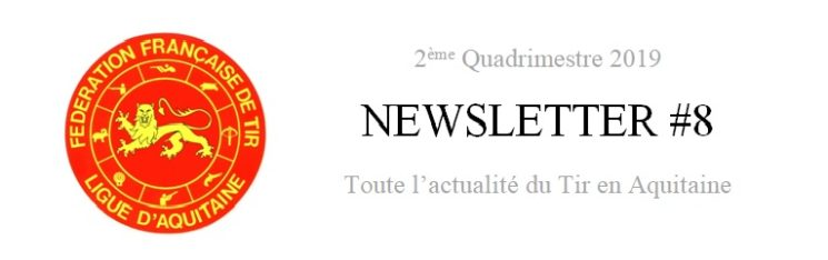 [Information] Newsletter 2ème quadrimestre 2019
