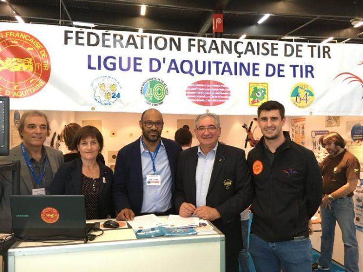 [Scolaires] Signature convention Ligue d'Aquitaine de Tir / UNSS Académie de Bordeaux