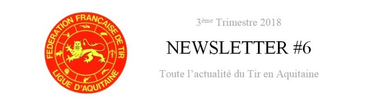 [Information] Newsletter 3ème trimestre 2018